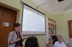 Lilia Shutiak presents the current Ukrainian media system
