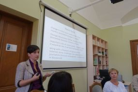 Lilia Shutiak presents the current Ukrainian media system