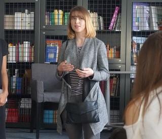 Mariia Hrytskiv, editor of newspaper Molodyi Bukovinets