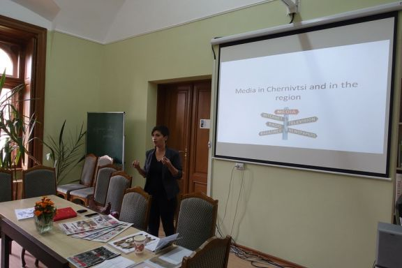 Media expert Lilia Shutiak talks about the Ukrainian media system