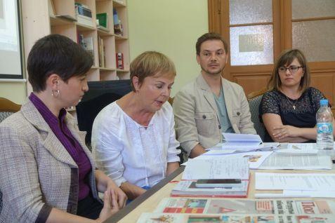 Media experts from Germany, Ukraine and Moldova