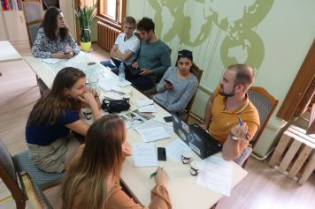 Preparation of the media projects in trinational teams in the border region of Ukraine and Moldova