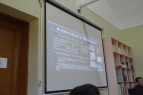 Role of journalists in Moldova