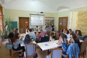 Young journalists from Ukraine, Moldova and Germany participate in the project